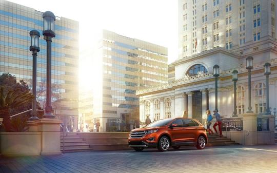 فورد اج 2015 با ظاهر بهتر SUV وارد بازار می شود