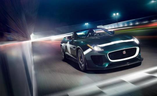 سریع ترین خودروی خیابانی جگوار
