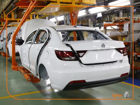 تولید بیشتر از 420 هزار دستگاه خودرو در گروه خودروسازی سایپا